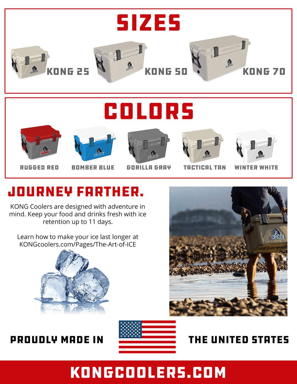 KONG Coolers Flyer - Back