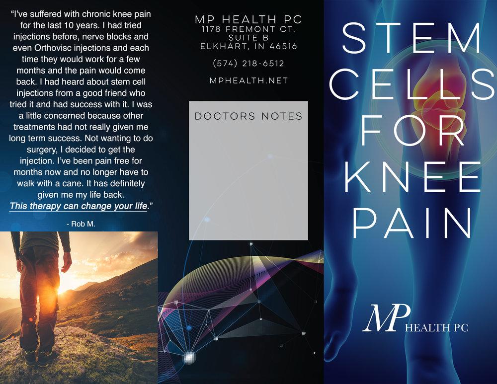 MP Health Stem Cell Brochure - Outside