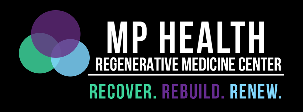 MP Health Logo Black