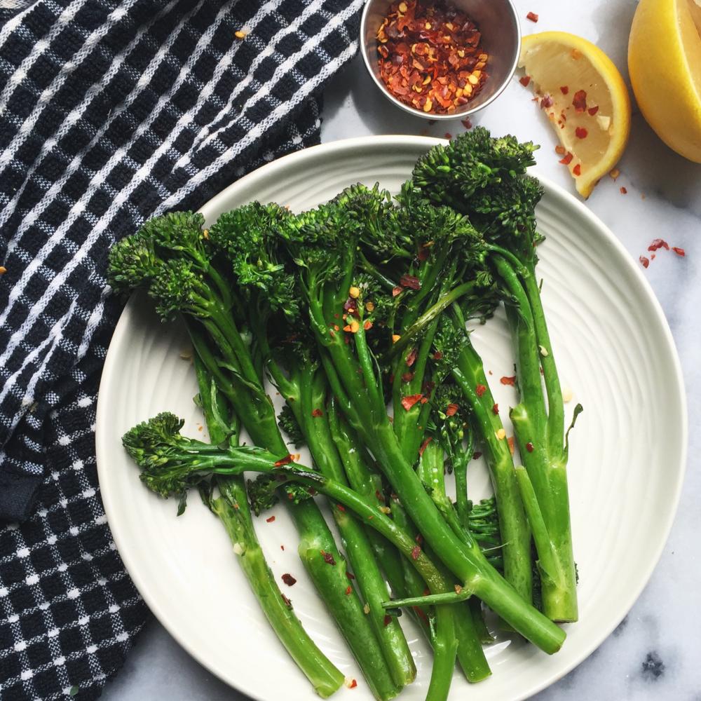 Roasted Baby Broccoli -