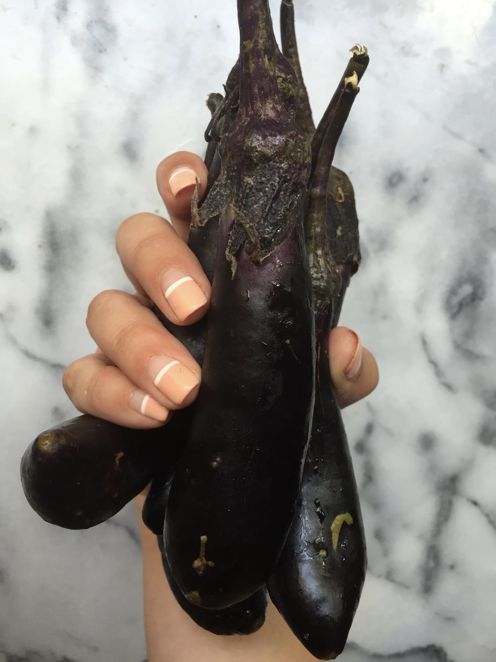 Last week I talked about how you need to Eat The Rainbow, well now I present you with a highlight on the color purple: Eggplant! -