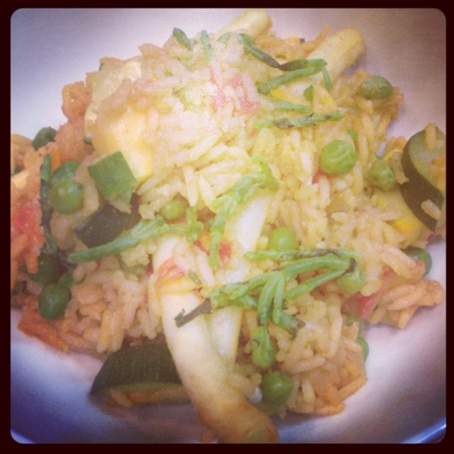 Seafood Paella -