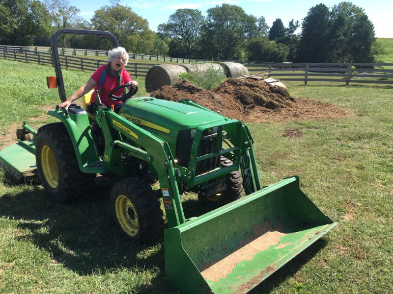 Claudia on the Tractor.jpg