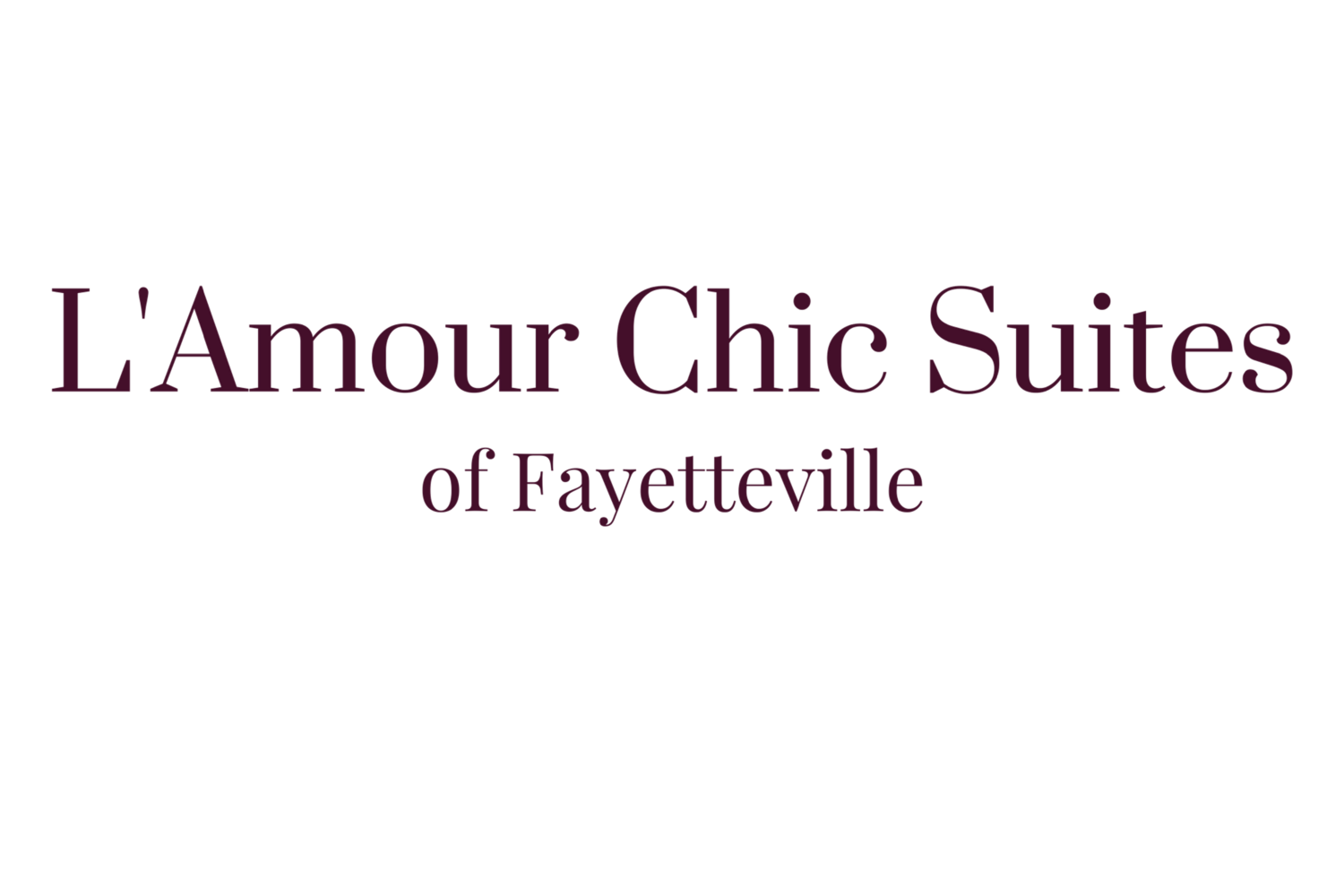 L'Amour Chic Suites of Fayetteville