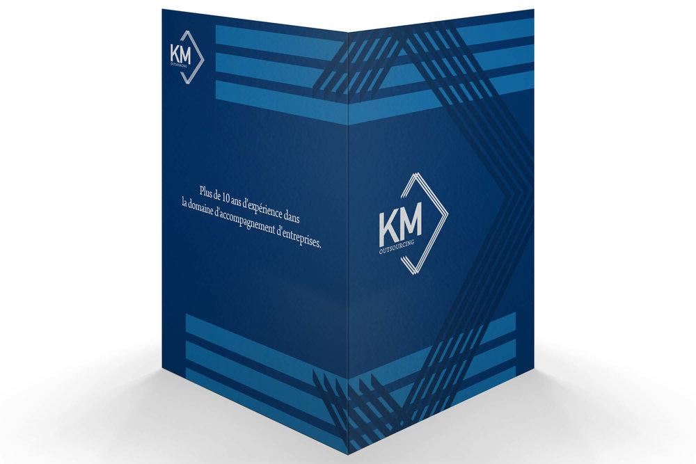 Presentation Folder for KM Outsourcing
