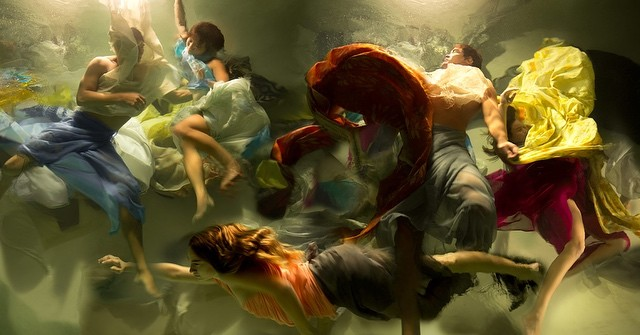 """Creation"" by @christyleerogers #art #muses #inspiration #underwater #photography"