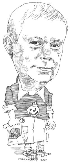 Sketch of Denis Stearns