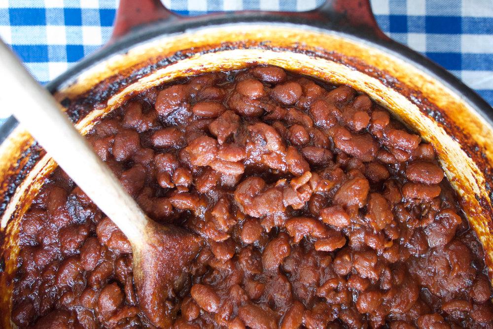Mesquite Barbecue Beans