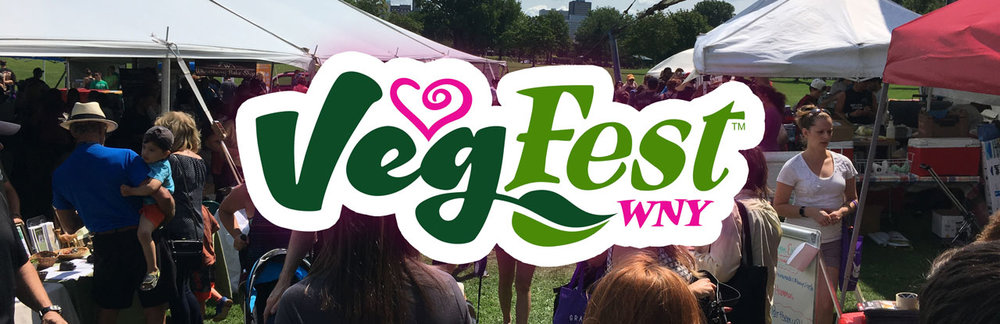 Join Us at WNY VegFest  August 5th, 2018 from 11am-6pm   FREE ADMISSION!   Tofurky Trot 5K Run/Walk  Delicious Veg Food  Speakers  Live Music & Performances  Vendors / Exhibitors  and so much more!
