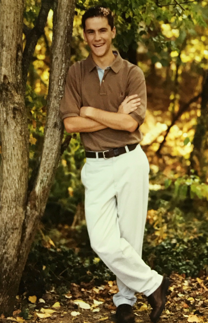 Senior pics! Hot stuff with that swaggy lean & Hilfiger polo.