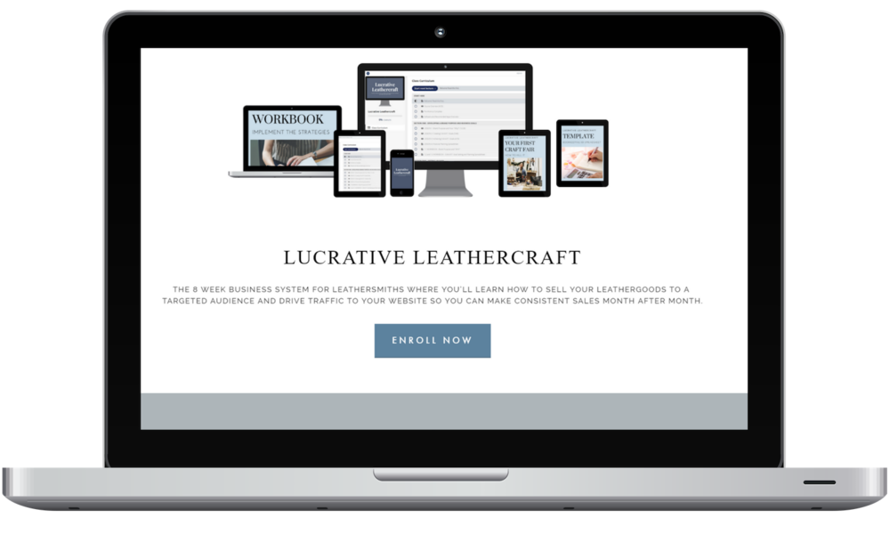 lucrative leathercraft course contents, learn how to start  profitable leathergoods business