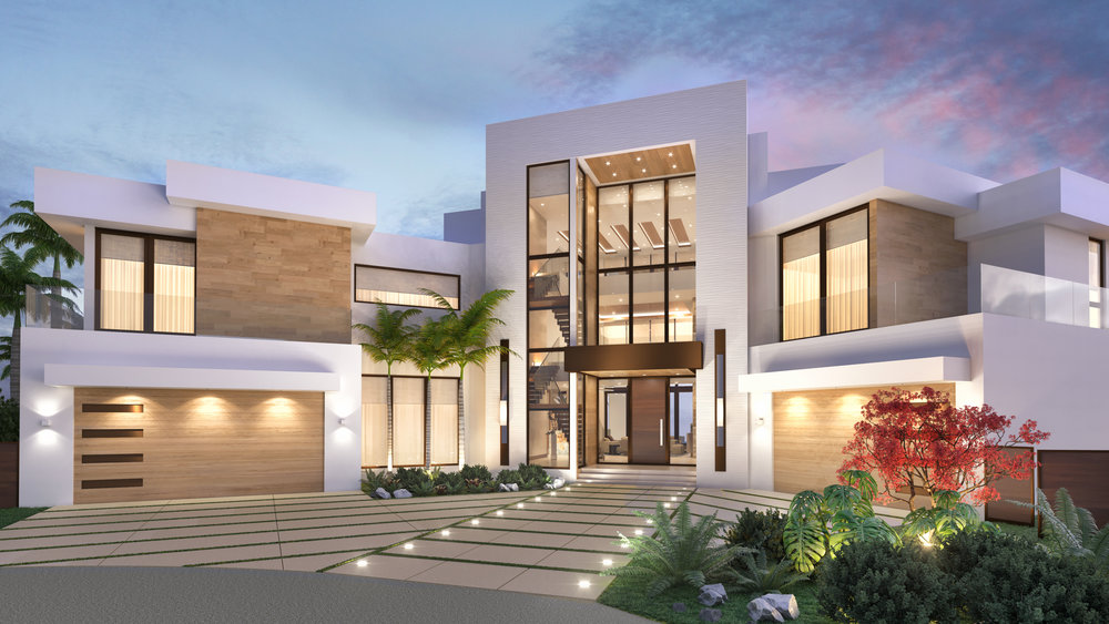 Las Olas Modern Mansion - View Project →