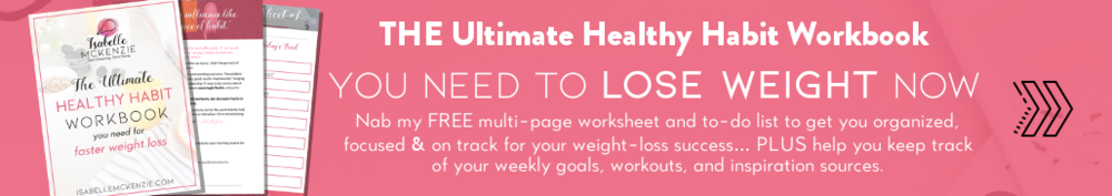 THE Ultimate Healthy Habit Worksheet You NEED To Be Using To Lose Weight NOW Signup