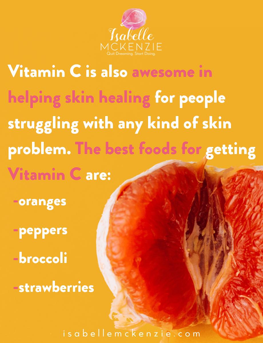 Vitamin C Foods for Better Skin