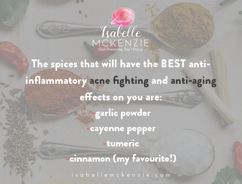 Spices for Better Skin