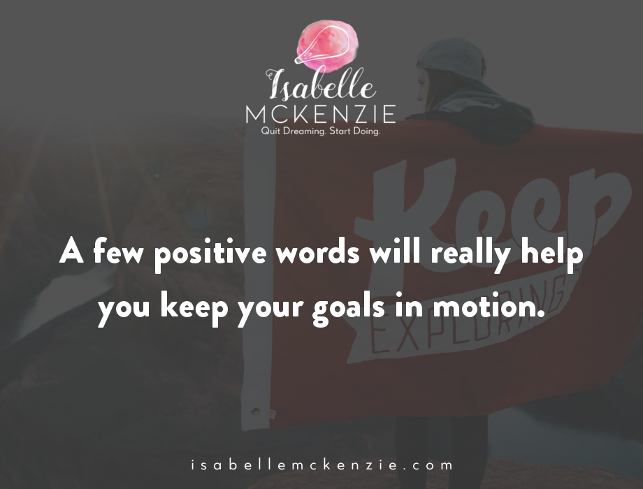 How To Keep Your New Year's Resolution + a FREE Challenge - Isabelle McKenzie