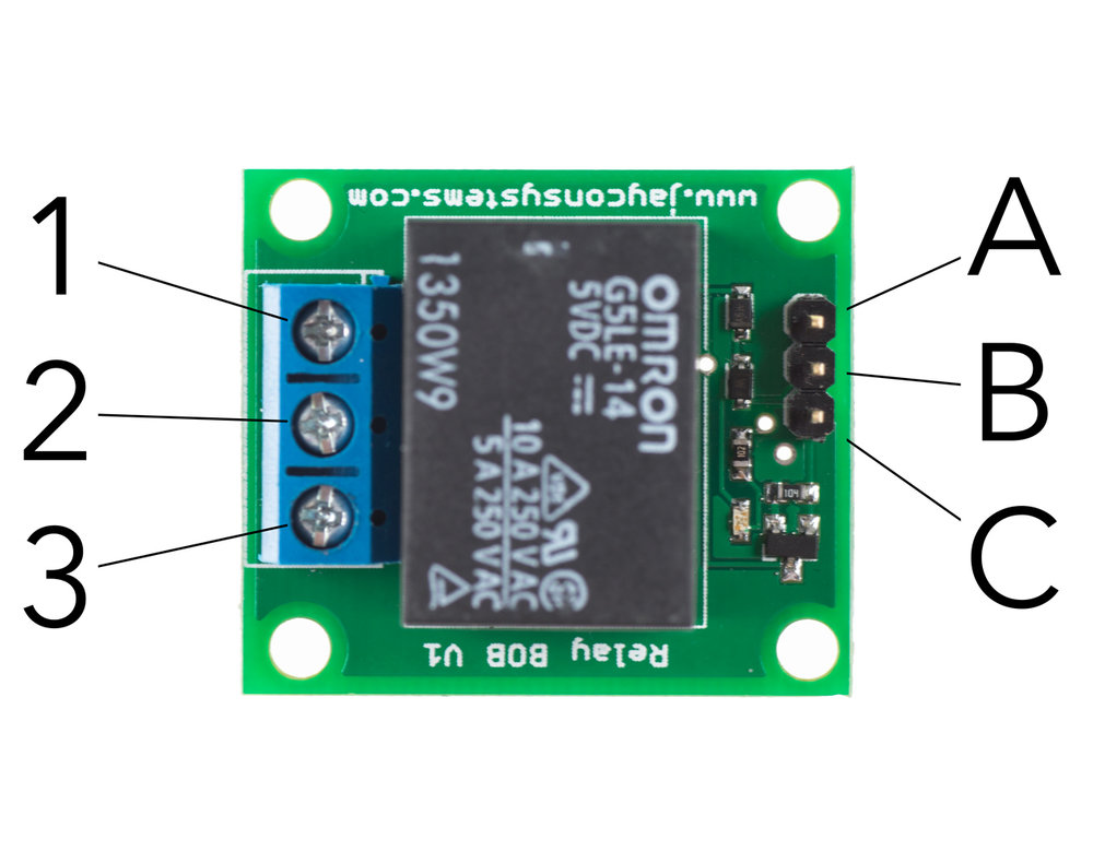 Relay Pin Identifiers