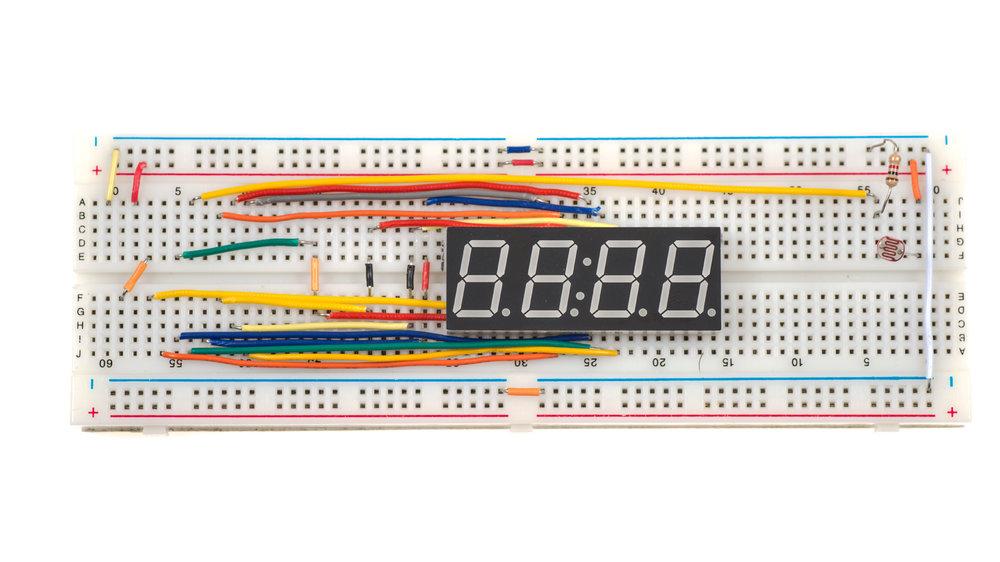 LED Segment Wiring