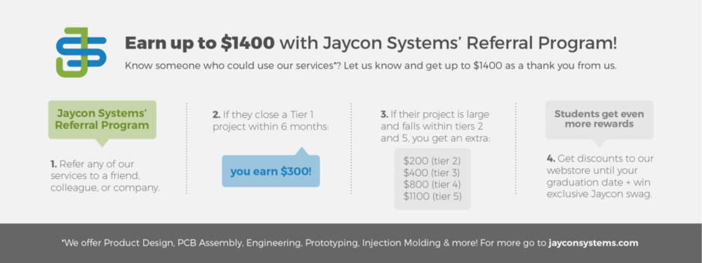 To see what services we offer, go to:  jayconsystems.com/services