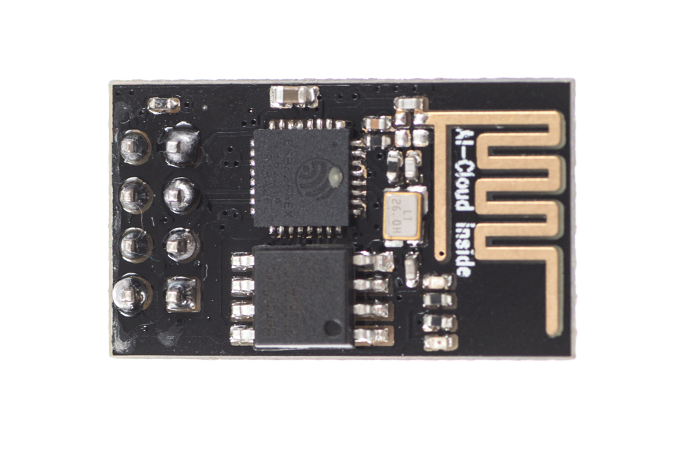 Getting started with the ESP8266 ESP-01 | Jaycon Systems