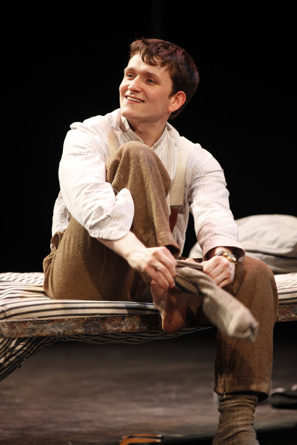 Private Peaceful by Michael Morpurgo with Shane O'Regan as Tommo Photo by Tom Lawlor Verdant Productions.JPG