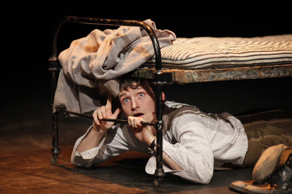 Shane O'Regan in Private Peaceful by Michael Morpurgo Photo by Tom Lawlor.JPG