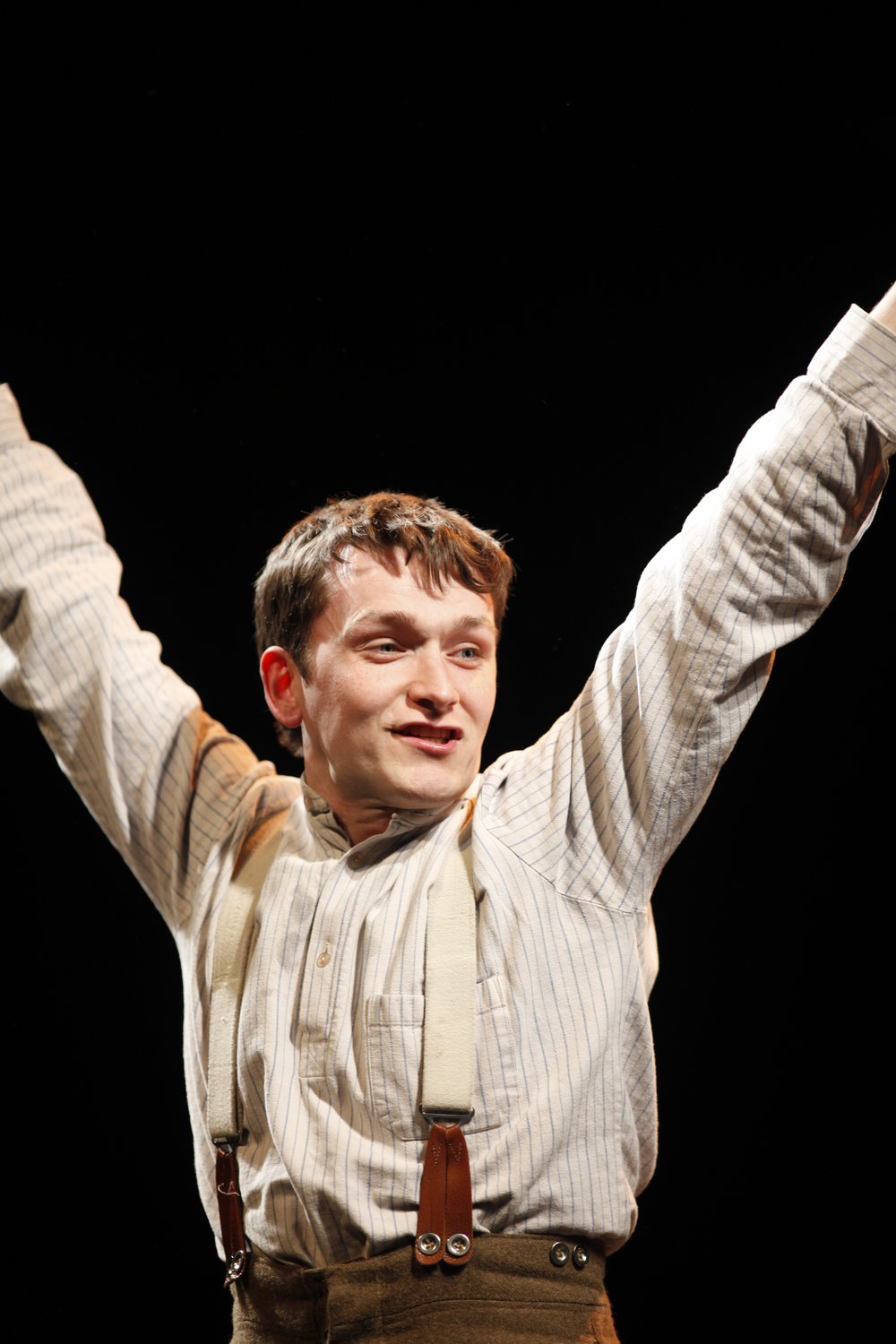 Shane O'Regan playing Tommo in Private Peaceful by Michael Morpurgo Photo Tom Lawlor.JPG
