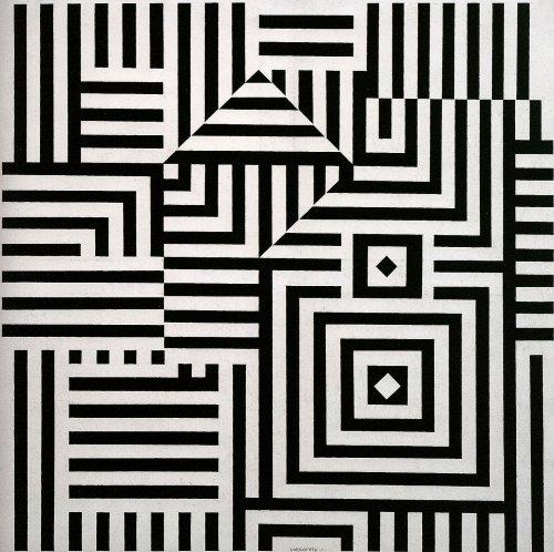 Victor Vasarely 'Riu-Kiu' 1960