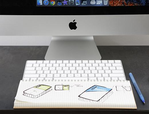 Stylish and handy keyboard pad!