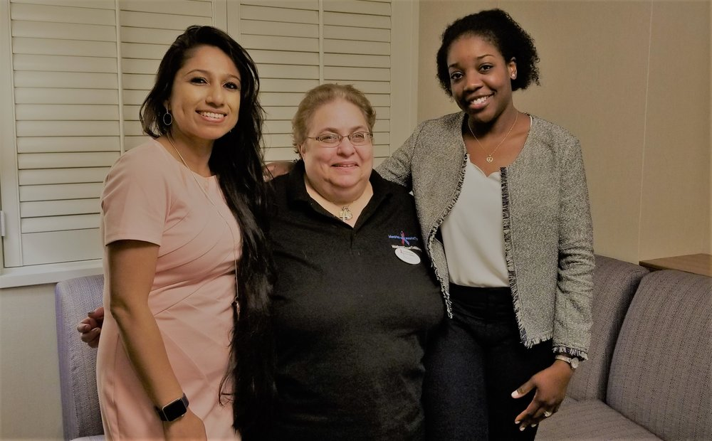 With Peggy Miller (Director, MBCC) and Dr. Lloye Dillon