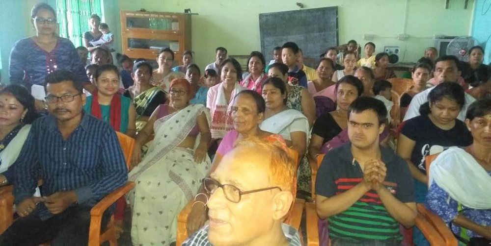 Presentation on the importance of early detection, issues with dense breast & mammogram, Breast self examination and the survivors stories at Mrinaljyoti Rehabilation Centre!