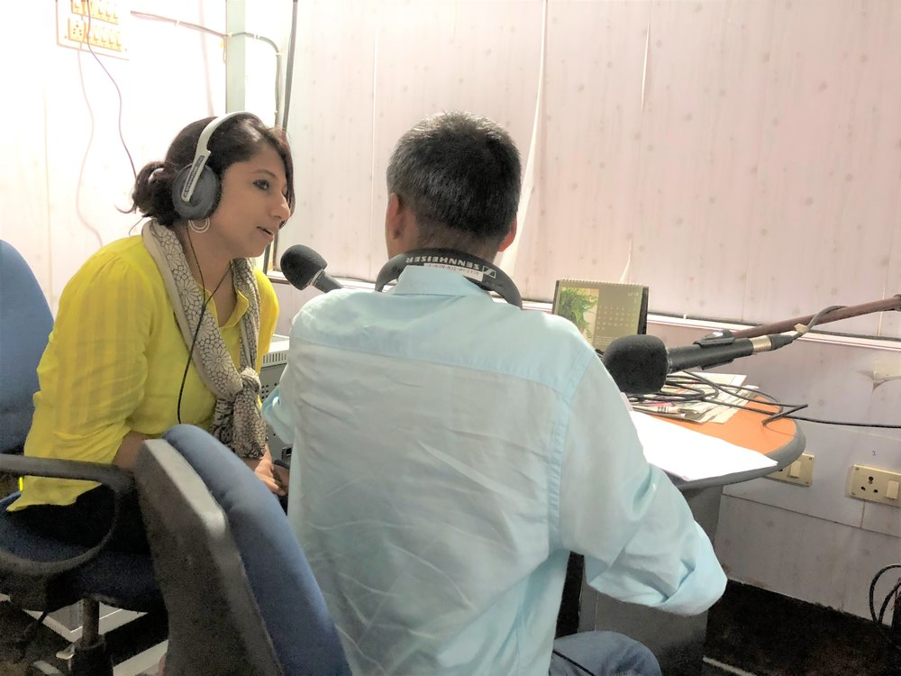 I am sincerely thankful to Mr. Bhaskar Bhuyan for supporting the cause and inviting me to Radio Brahmaputra 90.4 FM on 20th July 2018. My primary focus was targeting embarrassment, taboo, ignorance and bringing Breast self exam (how to perform) process in both women and men into picture. If the public are reinforced about the importance of taking care of Breast Health, then we can decrease the mortality rate from Breast Cancer specially in NE India. Radio Brahmaputra can play a huge role and I can keep sending brief talks for future deliveries that might be helpful to combat the critical situation with Breast Cancer in NE India.