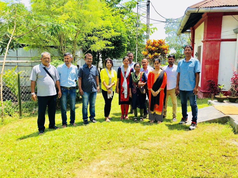 C-NES (Boat Clinics) Dibrugarh Team: It was a pleasure meeting Dr. Juganta Kumar Deori, Ms. Nandita Kalita, Ms. Damayanti Das, Ms. Devarani Deori, Dr. Bhaben Chandra Bora, MO; Mr. Arup Saikia, Mr. Siddhanath Gogoi, Mr. Ramakant Yadav, Mr. Rakesh Doley, Mr. Bhaskarjyoti Bhuyan and Mr. Dipankar Bird Chonre.