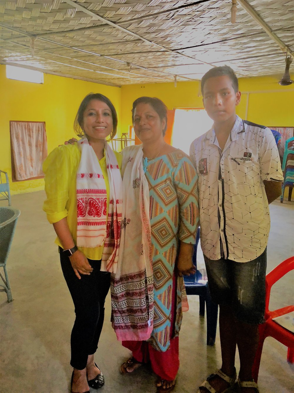 During my outreach, I met Mrs. Mrinalini Neog, Breast Cancer Survivor, Diagnosed at Stage III. I am so proud of Mrs. Neog for not hesitating to speak about her story. Mrs. Mrinalini Neog's journey and interview on Breast Cancer Hub website.