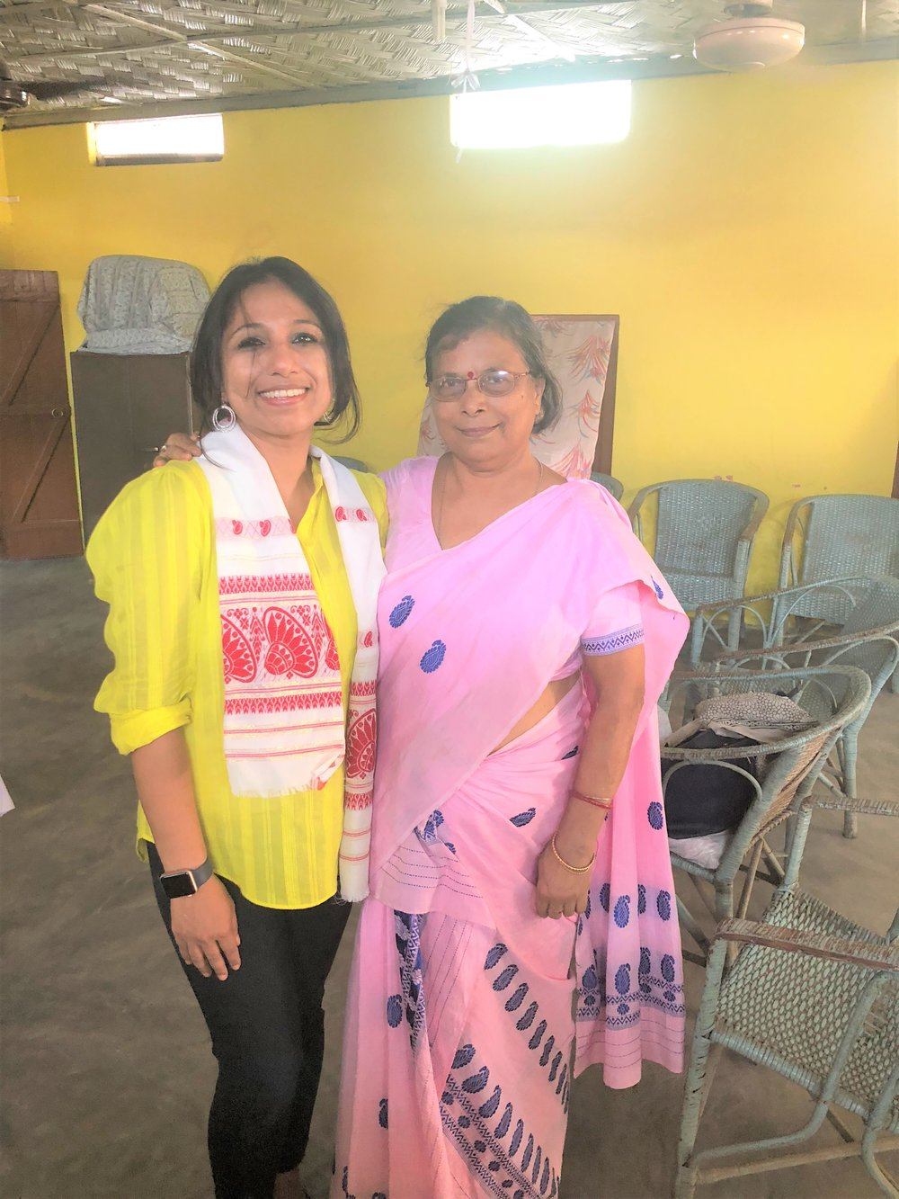 I am also thankful to Mrs. Deepali Saikia, Vice President, Pratishruti, General Secretary, Mahila Samiti for organizing the event and for bringing out the current scenario of Breast Cancer related to embarrassment and taboo. Interview on BCH website.