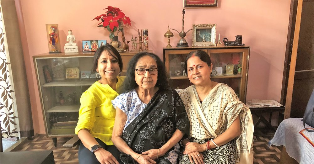 My utmost thanks to Mrs. Sandhya Sen (my maternal Grandma's sister), Mrs. Soma Sen and Mr. Soumitra Sen for lunch in their home and their immense heartfelt warmth and hospitality. Will carry the remembrances forward!