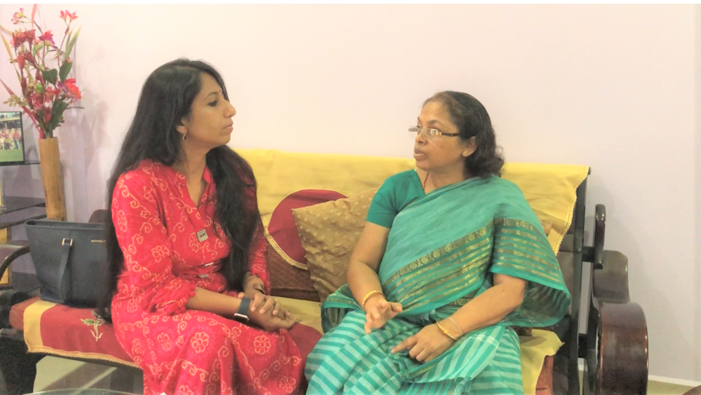 It was a pleasure meeting Mrs. Supti Shyam, 62 yrs, on 4th August, 2018!. Thanks to Mrs. Shibani and Tomali Brahmacharji for connecting me to Mrs. Supti Shyam, . Mrs. Shyam felt the lump and for almost a year delayed her diagnosis being shy ad ignorant. She aiso thought that since Breast cancer doesn't run in her family, so she also wouldn't get it. Since she was so busy balancing work and family that she negected her own health. Hats off to  Mrs.Shyam  for speaking about her journey so others learn about the importance of taking care of Breast health and address the issue immediately to family and doctor unlike her journey where due to shyness & ignorance, she delayed her diagnosis! So amazed meeting such a brave woman, Mrs. Supti Shyam who is an inspiration for the mankind!