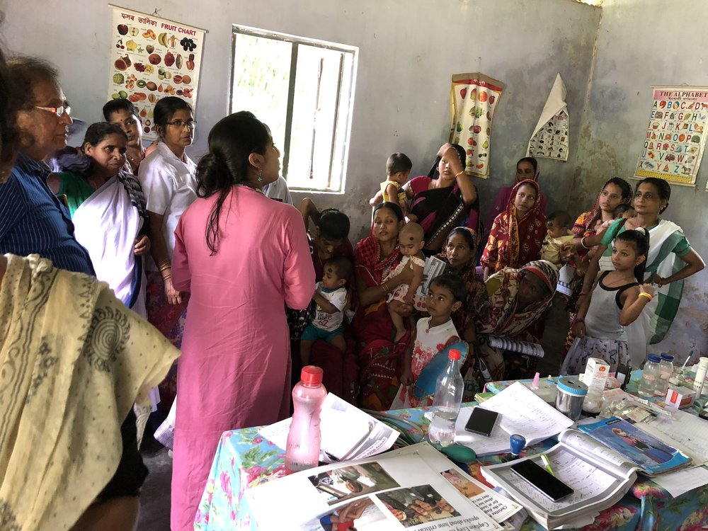 I am thankful to Mrs. Sweety Das who connected me to Mrs. Shipra Das, Auxiliary Nurse Midwifery (ANM), Tupkhana who helped with the outreach.