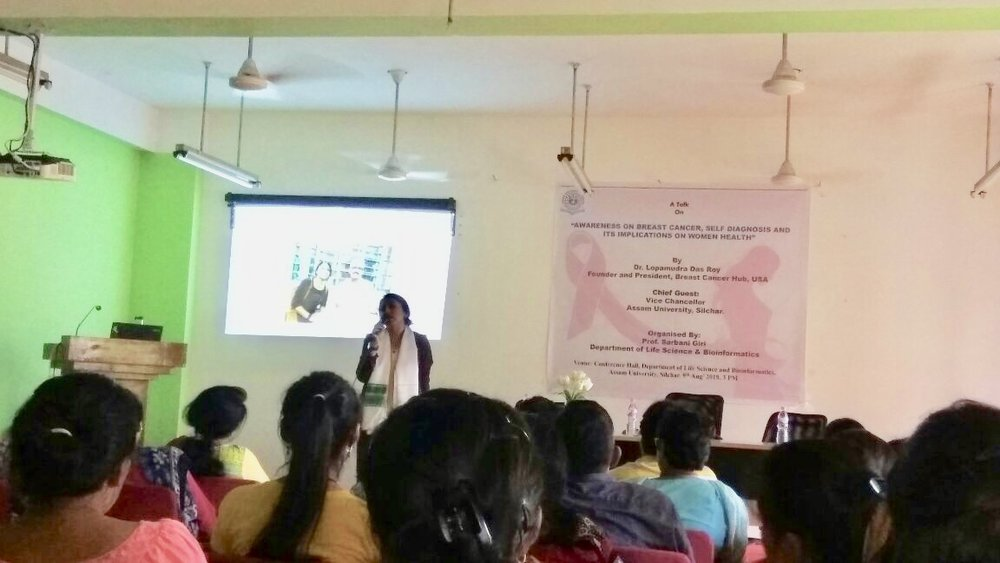 Presentation on awareness and scientific aspects related to Breast Cancer