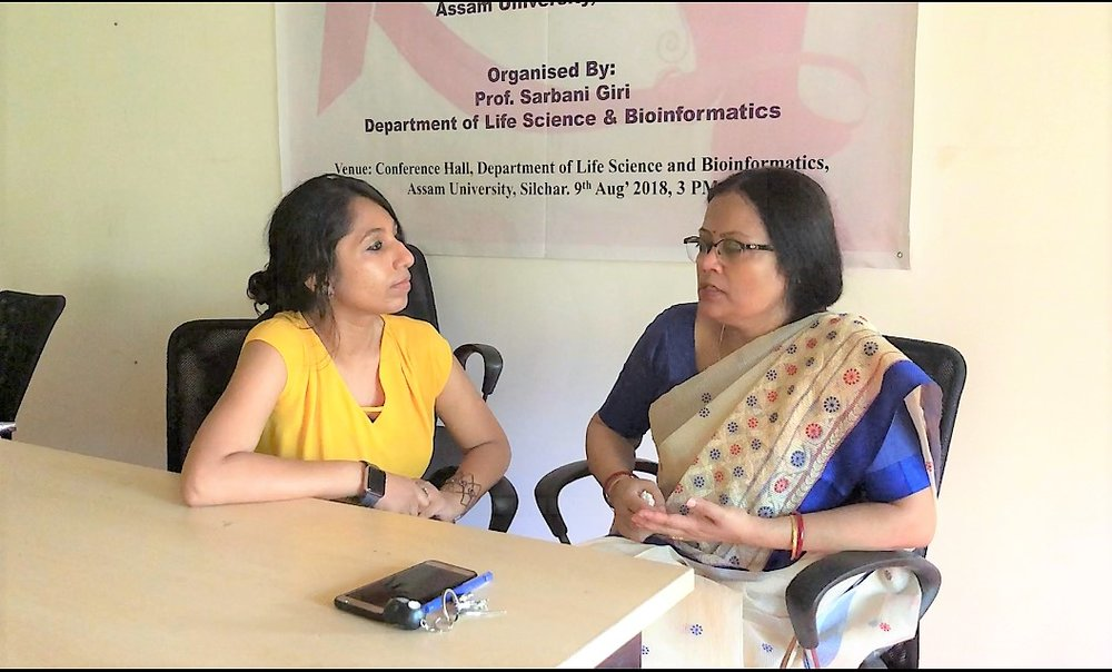Finally, I am so thankful to Dr. Sarbani Giri for discussing the current scenario about Breast Cancer in India and bringing in very important facts. I always look upto Dr. Giri as my mentor and I feel so blessed today to get her viewpoints on this critical situation. Interview posted on BCH website