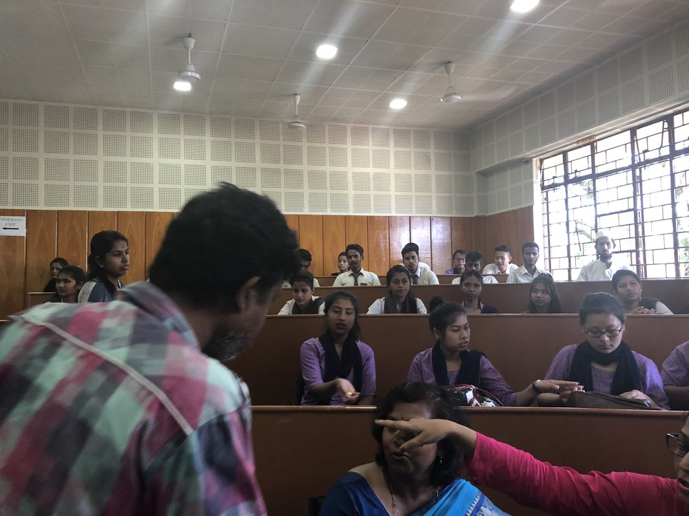 Session 1: Extremely thankful to the Students of Cachar College for your gracious presence and your interest and interactions.