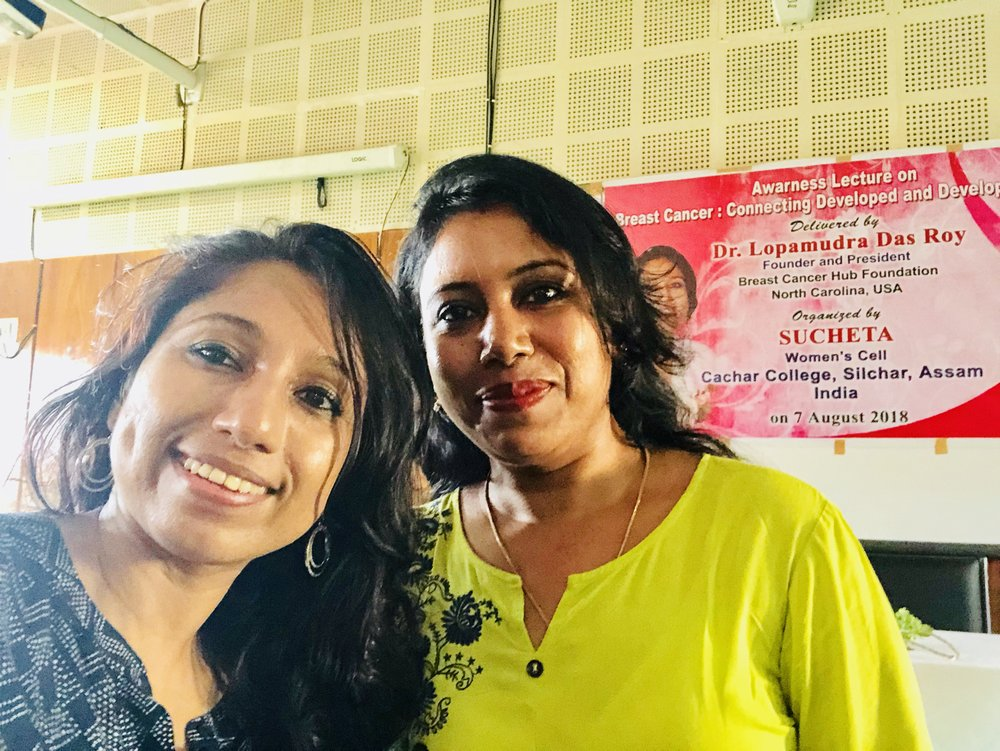My heartfelt thanks to Mrs. Aparna Sutradhar, my dear friend from college & university, for coming for the event and meet me. It was such a great pleasure!