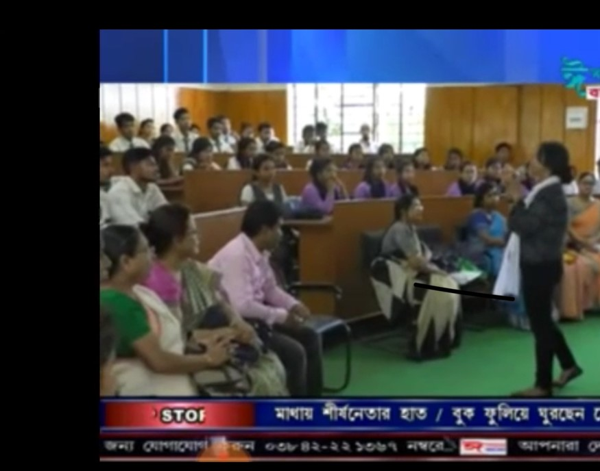 Also, thankful to Ishaan Bangla TV media for capturing the most important aspects that I am trying to bring forward about the situation of Breast Cancer in India & supporting the cause & bringing the issues into limelight. Thank you organizers for inviting the media.