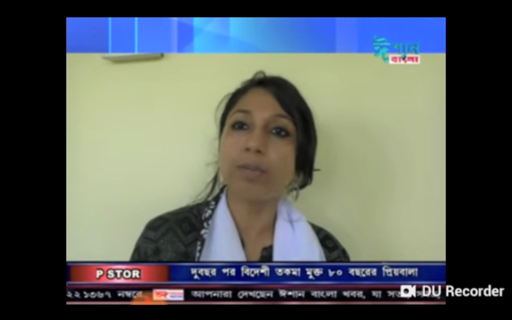 Also, thankful to Ishaan Bangla TV media for capturing the most important aspects that I am trying to bring forward about the situation of Breast Cancer in India & bringing the issues into limelight. Thank you organizers for inviting the media.