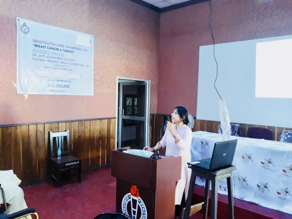 "Symposium on ""Sensitisation and Awareness on Breast Cancer and Taboos"""
