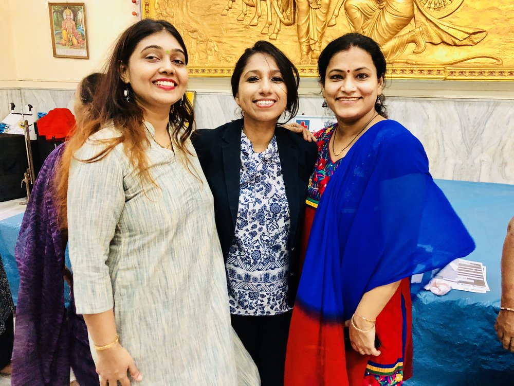 The power of network… my friend Mrs. Vidya Chandrasekhar, from USA, introduced me to her friend Mrs. Bindu Goyal from Mumbai who became a collaborator with BCH. Thank you so much Mrs. Chandrasekhar & Mrs. Goyal for all your help & support!