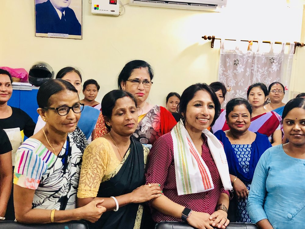 After the session, it was great interacting with the nurses, and I am so happy to see the eagerness within them to take forward the message of Breast self exam, spread it out within their own networks! Overall, a very fruitful session with doctors and nurses.