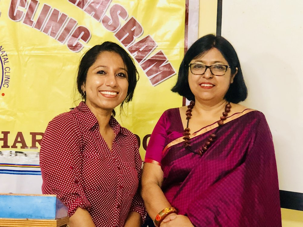 My earnest thanks to Dr. Sarmistha Bhattacharya, Consultant, Obstetrician and Gynecologist, for believing in the cause and for taking the initiative and organizing the program so meticulously, inviting both the nurses and doctors.