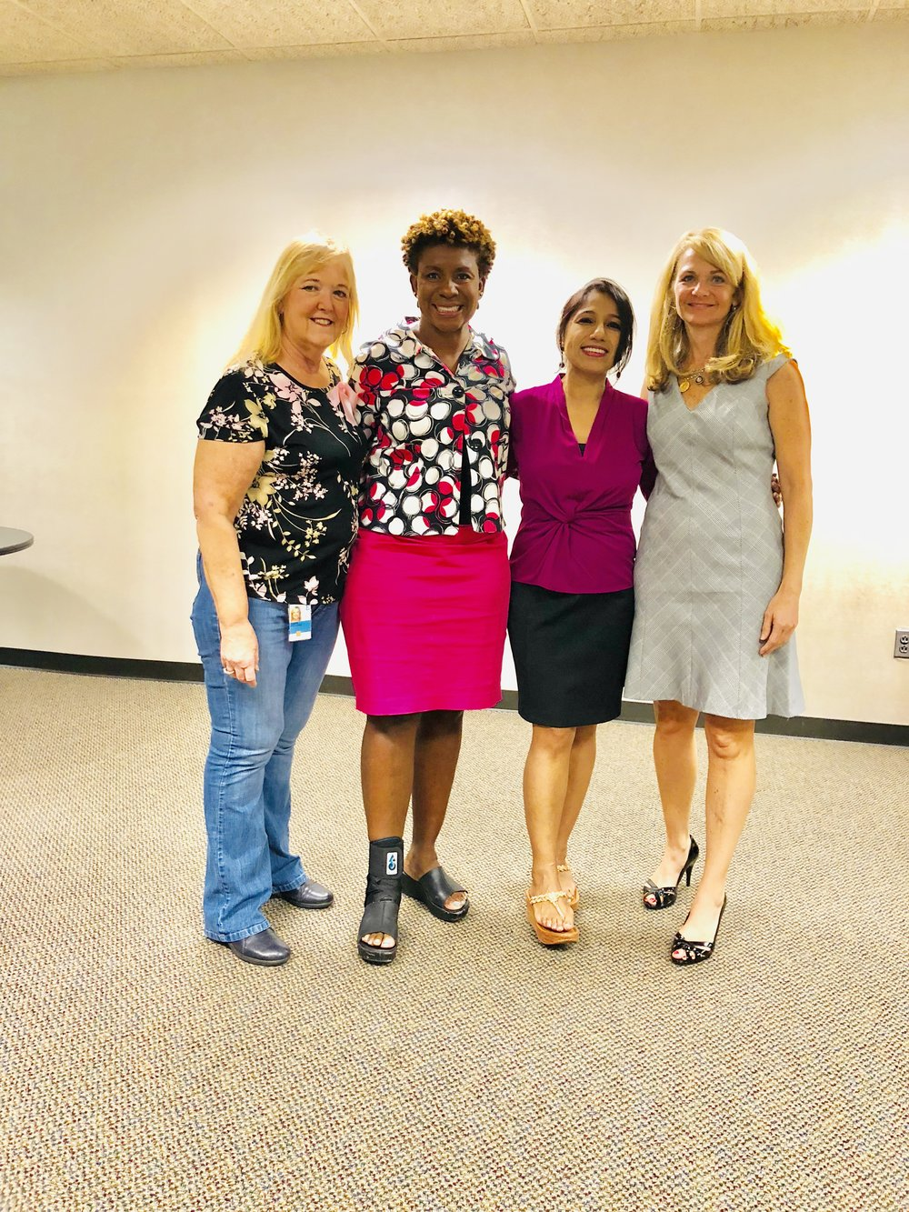 L to R: Tanya, Cathy, Me(Lopa), Maura