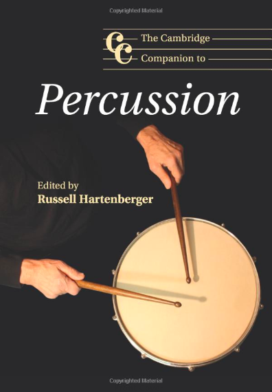 - The Cambridge Companion to PercussionPercussion theater - The drama of performancePercussion music is both the oldest and most recent of musical genres and exists in diverse forms throughout the world. The Cambridge Companion to Percussion by Russell Hartenberger explores percussion and rhythm from the perspectives of performers, composers, conductors, instrument builders, scholars, and cognitive scientists. Topics covered include percussion in symphony orchestras from the nineteenth century to today and the development of percussion instruments in chapters on the marimba revolution, the percussion industry, drum machines, and the effect of acoustics. Chapters also investigate drum set playing and the influences of world music on Western percussion, and outline the roles of percussionists as composers, conductors, soloists, chamber musicians, and theatrical performers. Developments in scientific research are explored in chapters on the perception of sound and the evolution of musical rhythm. This book will be a valuable resource for students, percussionists, and all those who want a deeper understanding of percussion music and rhythm.https://www.cambridge.org/core/books/cambridge-companion-to-percussion/percussion-theater/0A603E3968A4BA9EC449F77A61AFFD97